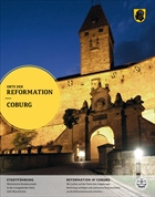 Cover des Buches Michael Böhm, Dorothea Greiner (Hg.): Orte der Reformation - Coburg