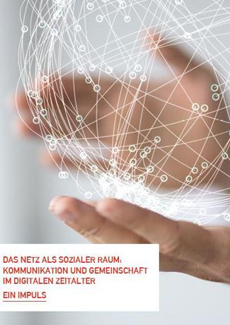 Cover des Buches Herausgegeben vom Landeskirchenrat der Evanglisch-Lutherischen Kirche in Bayern (ELKB): Das Netz als Sozialer Raum
