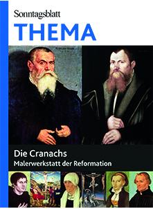 Cover des Buches SONNTAGSBLATT THEMA: Die Cranachs
