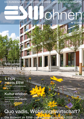 Cover des Buches Evangelisches Siedlungswerk: Quo vadis, Wohnungswirtschaft?