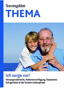 Cover des Buches SONNTAGSBLATT THEMA: Ich sorge vor!