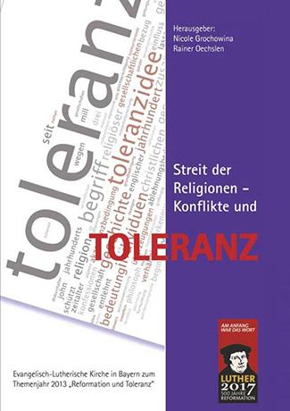 Cover des Buches Nicole Grochowina, Rainer Oechslen: Streit der Religionen – Konflikte und Toleranz