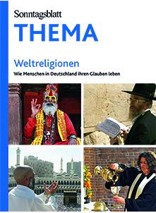 Cover des Buches SONNTAGSBLATT THEMA: Weltreligionen