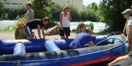 Alle in einem Boot