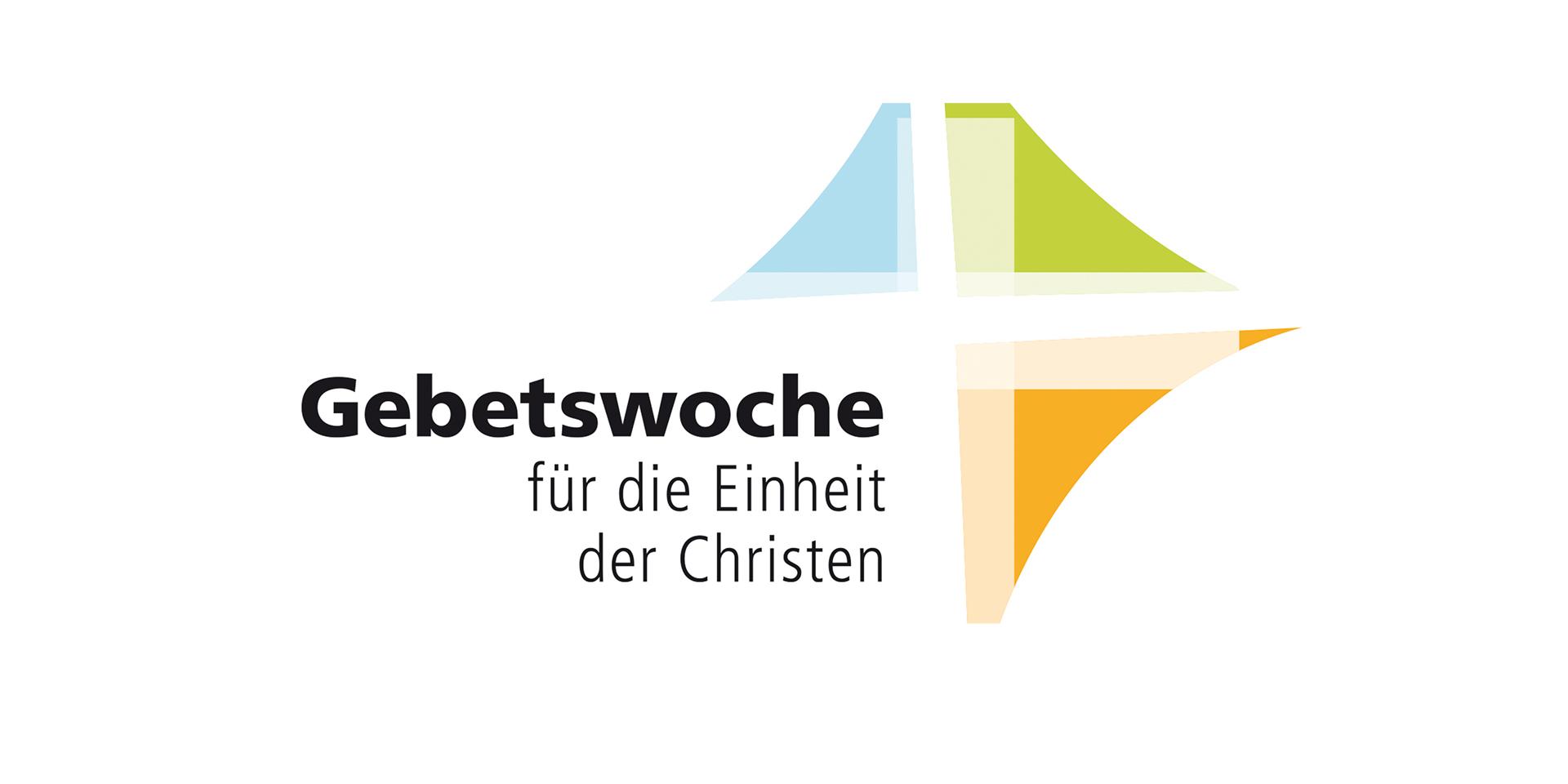 Logo Gebetswoche zur Einheit der Christen Weißraum