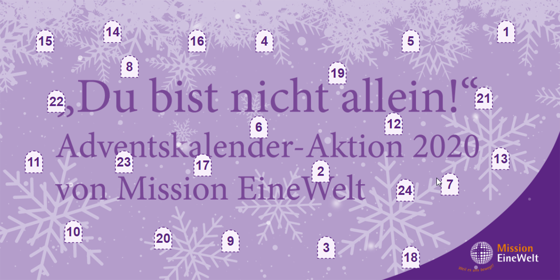 Advent Mission EineWelt