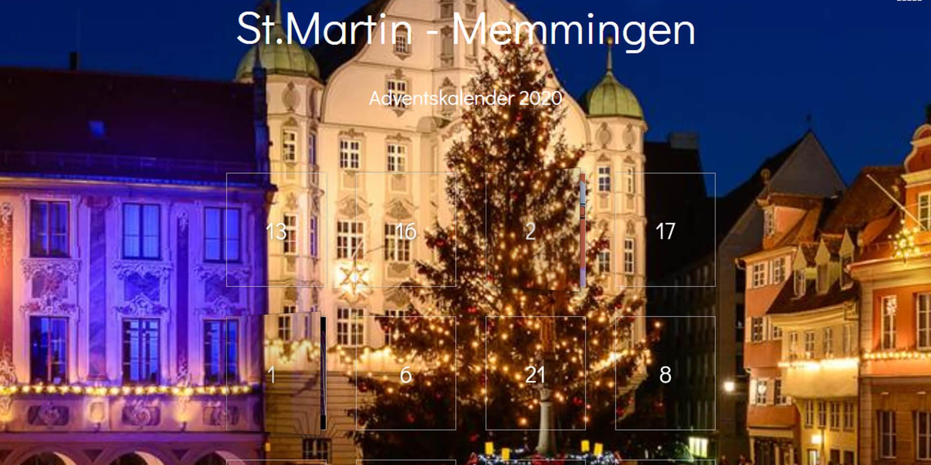 Adventkalender St. Martin Memmingen