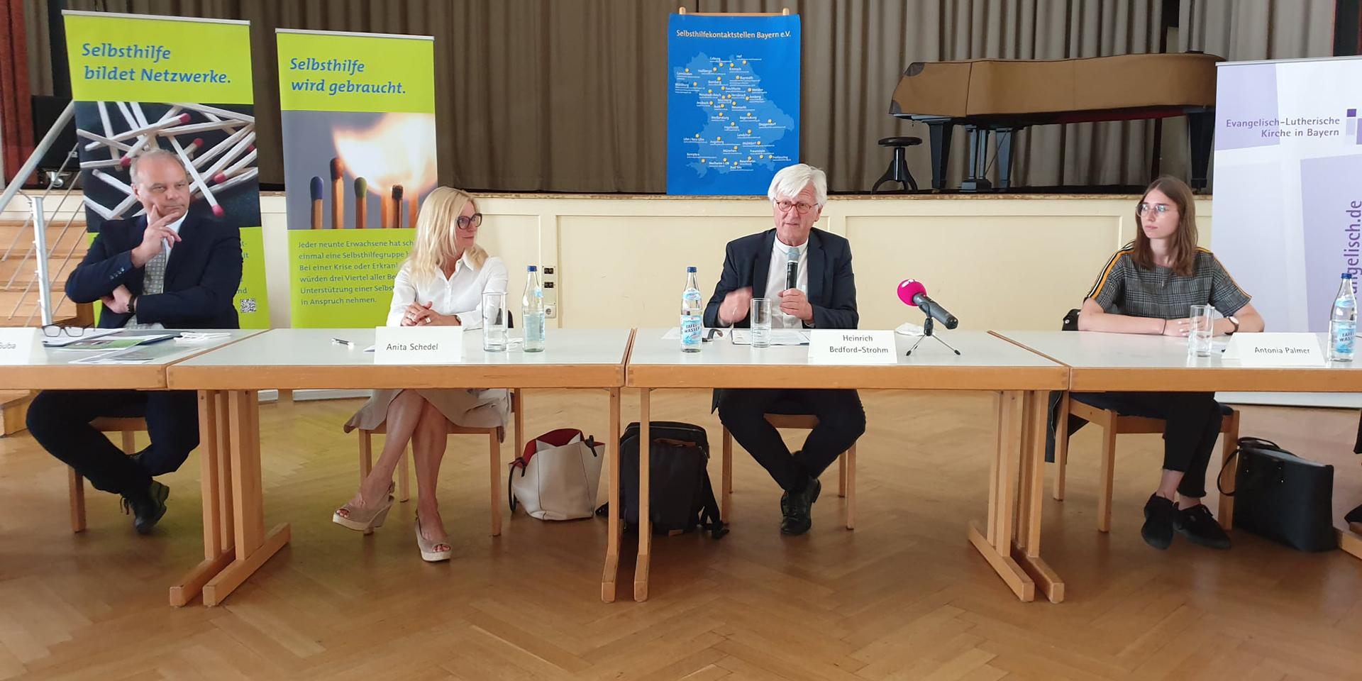 Pressekonferenz in Weiden in der Oberpfalz.