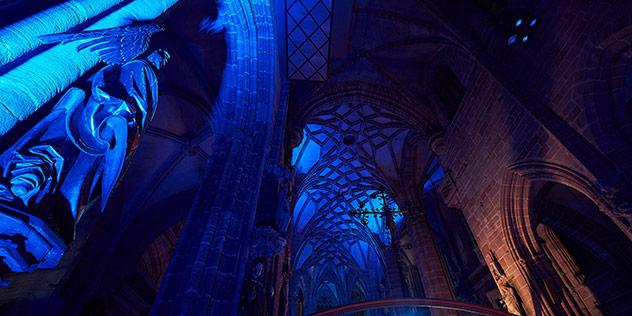 Blaue Nacht, © Claudia Voigt-Grabenstein