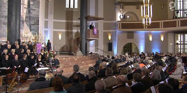 Landesbischof Heinrich Bedford-Strohm predigte am Buß-und Bettag in der Münchner Matthäuskirche
