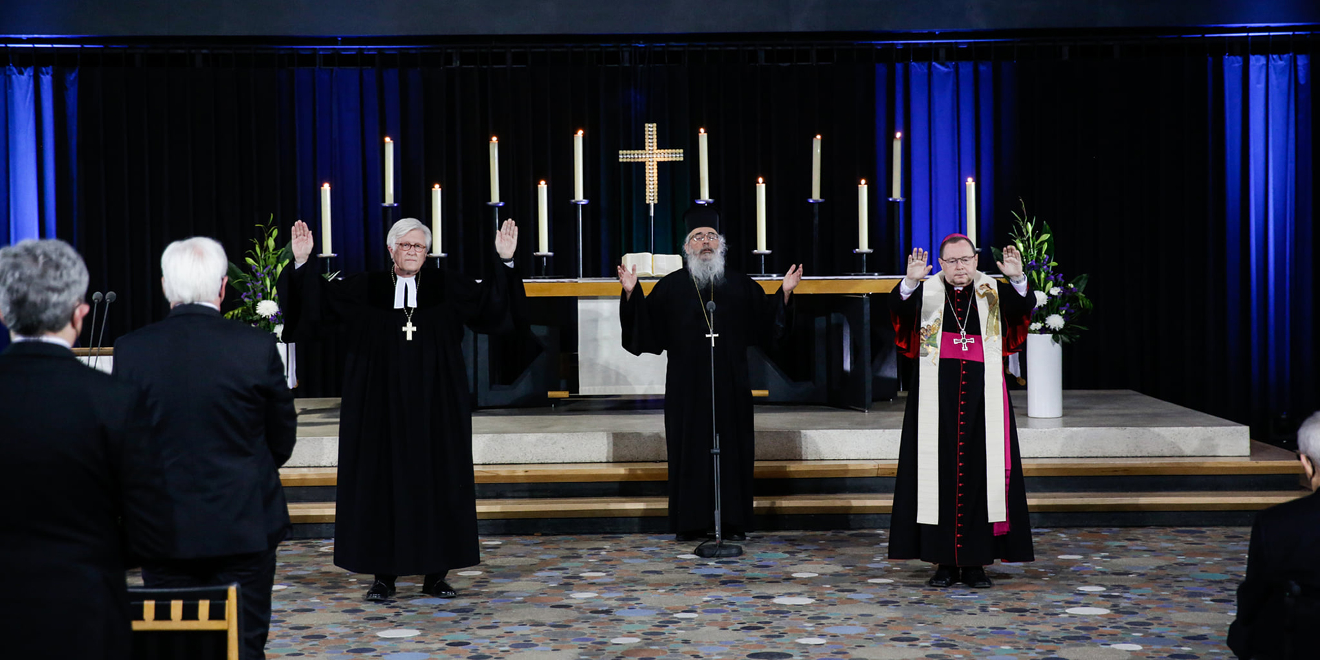 Ökumenischer Gottesdienst für die Verstorbenen in der Corona-Pandemie