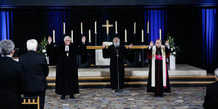 Ökumenischer Gottesdienst für die Verstorbenen in der Corona-Pandemie, © ELKB