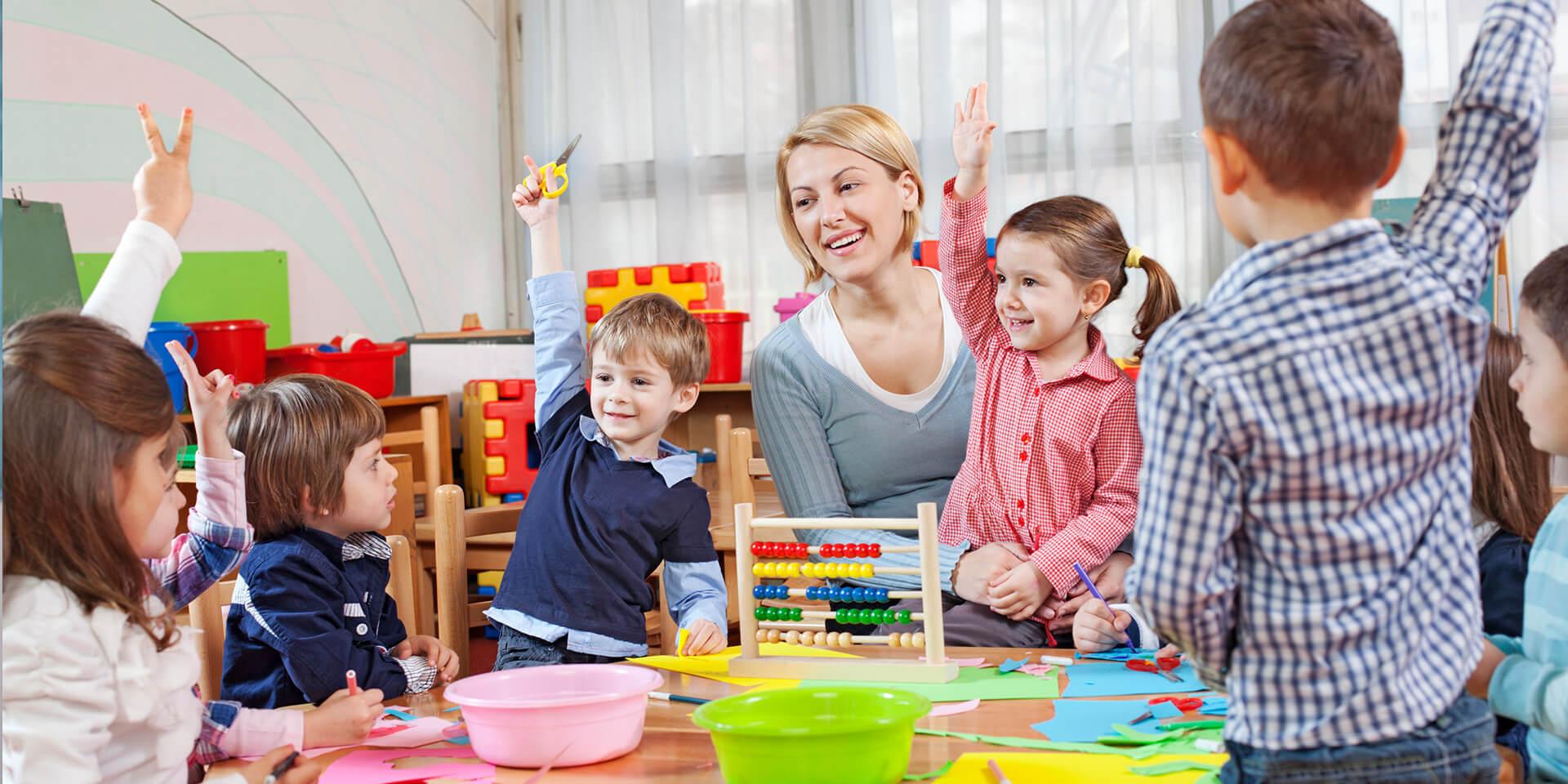 Bildung in den ersten Lebensjahren