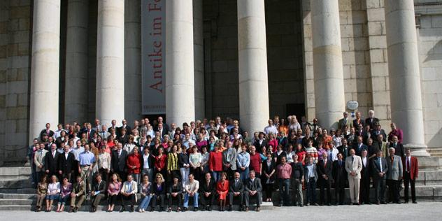 Gruppenfoto des Landeskirchenamtes