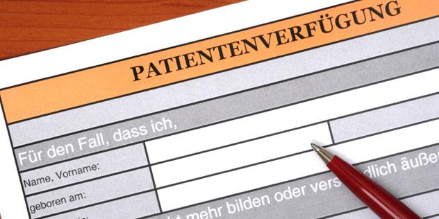 Handreichung zur Patientenverfügung