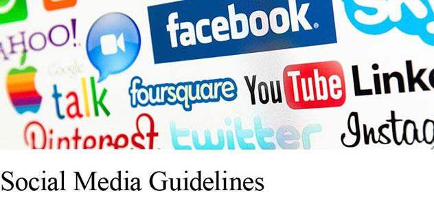Social Media Guidelines,© www.smg-rwl.de