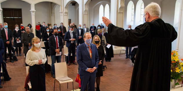 Verabschiedung Landeskirchlicher Finanzchef