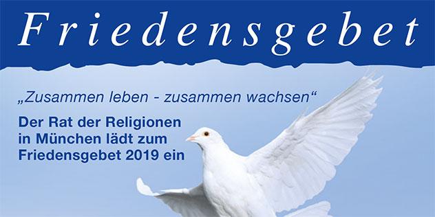 Friedensgebet der Religionen, © Rat der Religionen