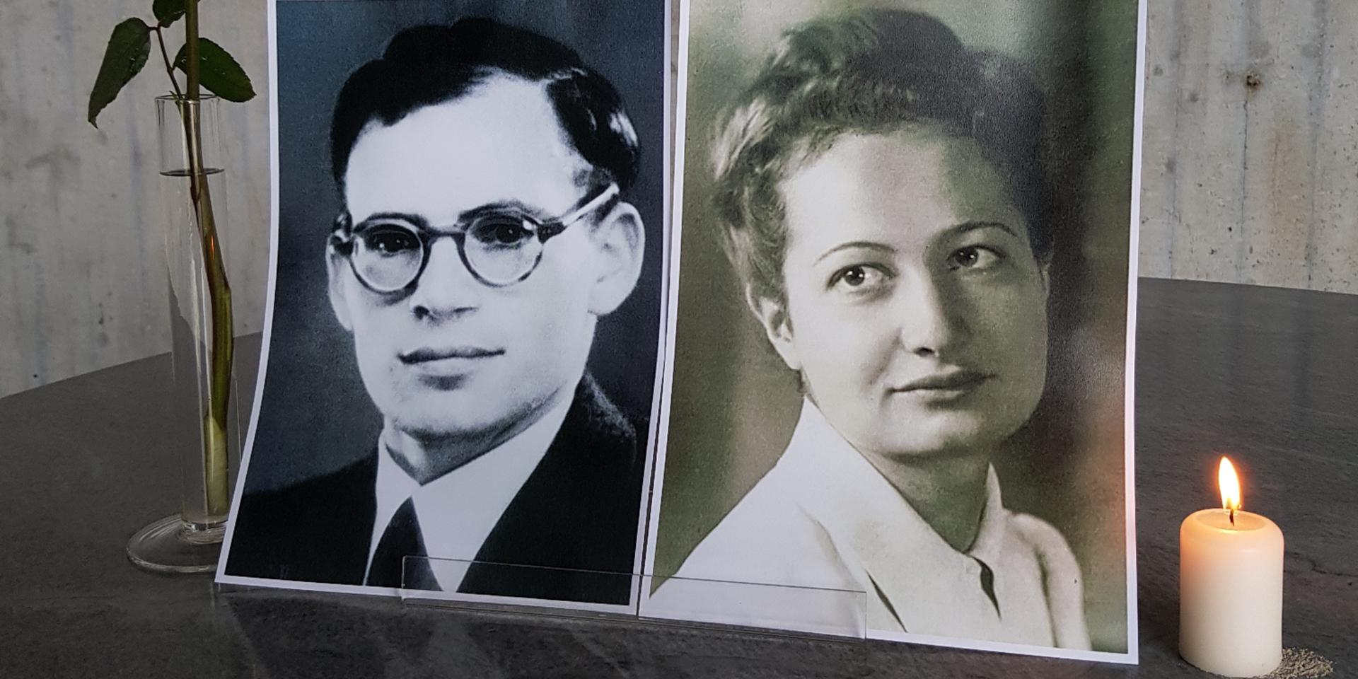 Hans Leipelt und  Marie-Luise Jahn