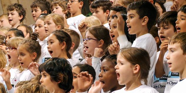 Internationale Orgelwoche Nürnberg Kinder Singbach, © ION