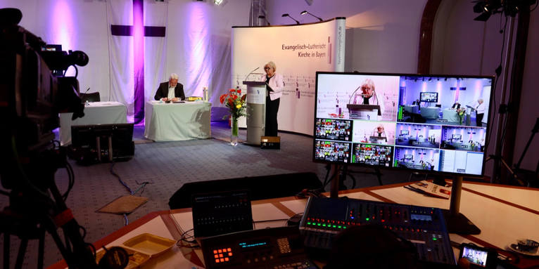 Digitale Synode: Herbsttagung 2020 als Videotagung, © elkb / mck