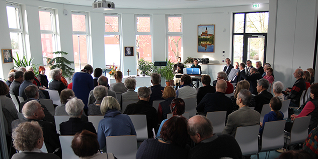 Partnerschaftstreffen Bayern Mecklenburg Waren Gottesdienst Schmetterlingshaus