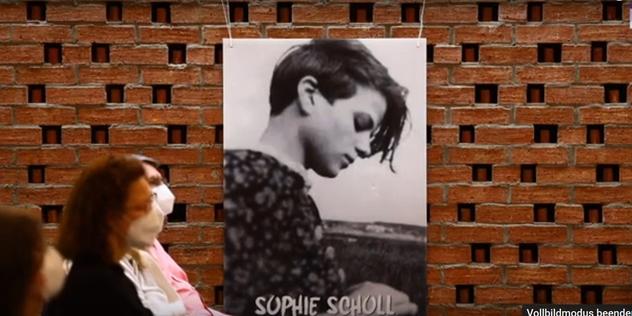 """Link zum Artikel """"Sophie Scholl ist Mahnerin an unser Gewissen"""""""