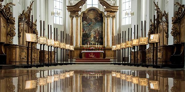 Der Altarraum von St. Stephan in Bamberg , © Bild: St.Stephan/ Foto: Gerald Raab