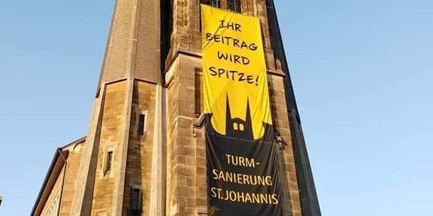 Turmsanierung, © St. Johannis