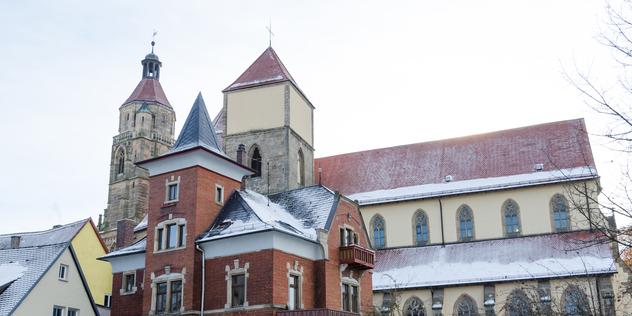 Die Kirche St. Andreas in Weißenburg