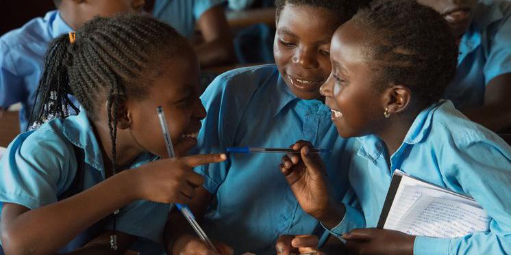 Mosambik Maputo Schulzentrum Kinder