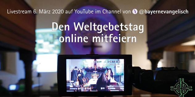 Livestream Weltgebetstag 2020 aus Bayreuth, Bild: © ELKB