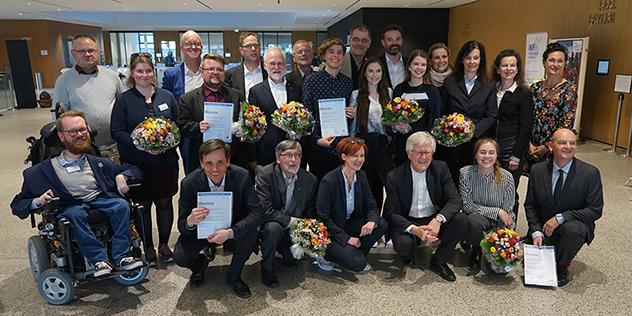 Die Gewinner des Öffentlichkeitsarbeitspreises der Landeskirche