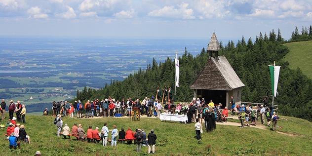 Berggottesdienst an der Steinlingkapelle, © privat