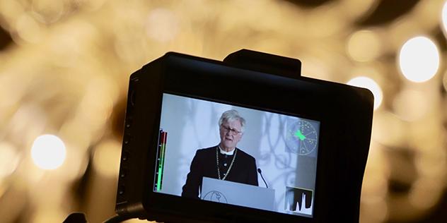 Landesbischof Heinrich Bedford-Strohm auf dem Jahresempfang in Tutzing, © Mölkner-Kappl