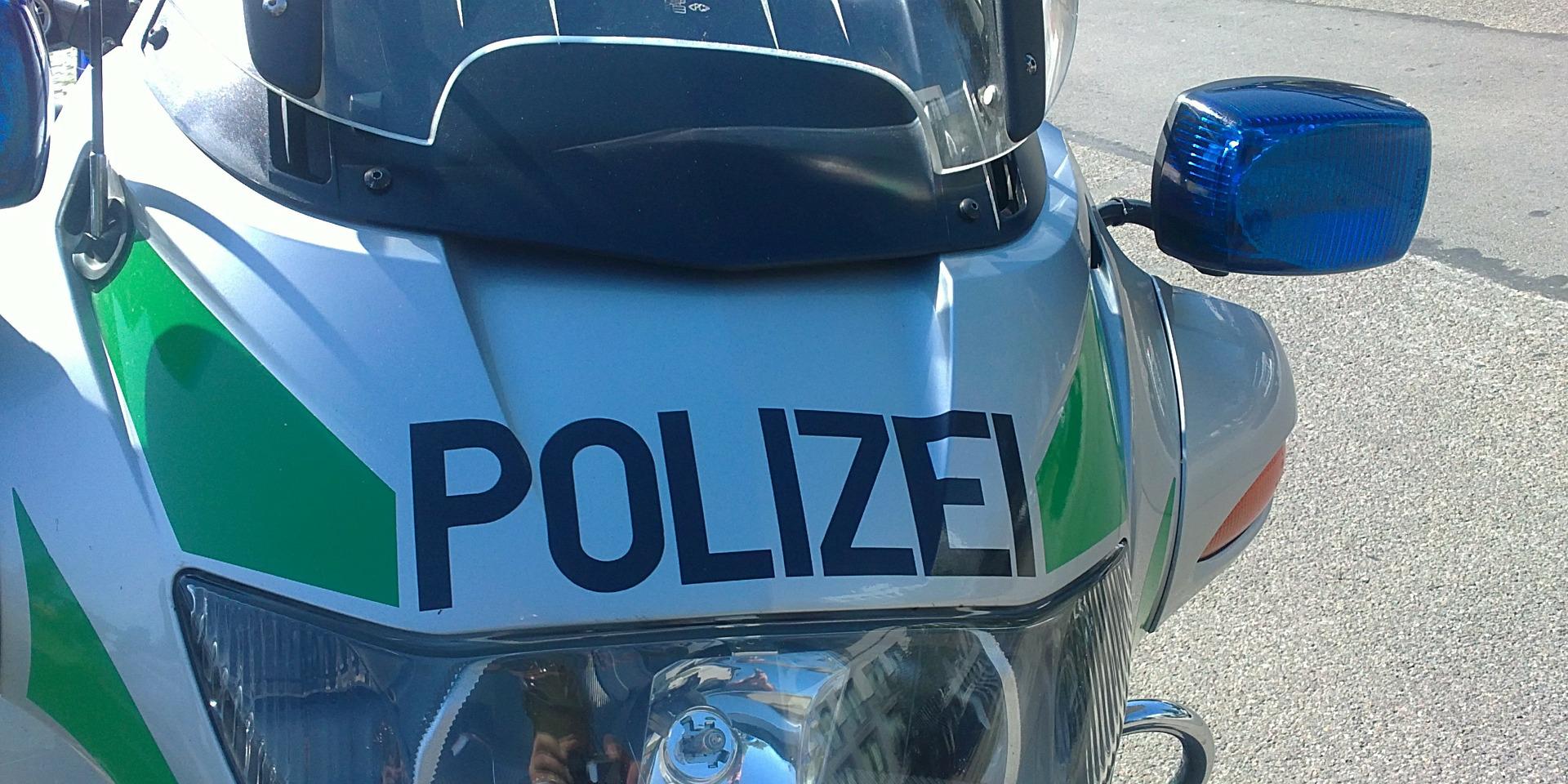 Polizeimotorrad , © creative commons