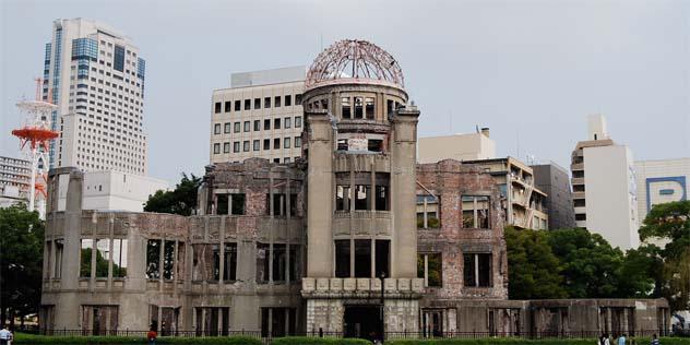 Friedensmahnmal in Hiroshima