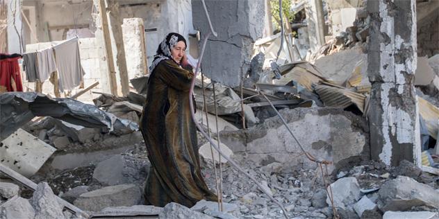 EKD Fürbitte für verfolgte Christen Syrien Titelbild Materialheft