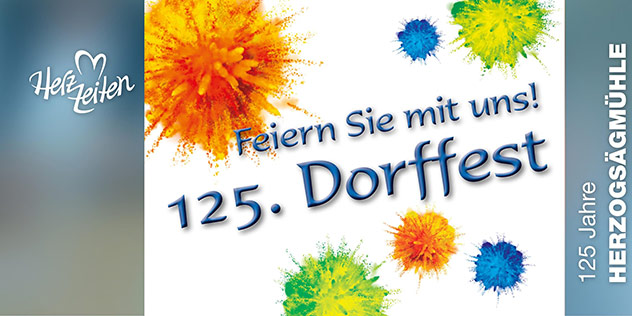 125 Jahre Herzogsägmühle