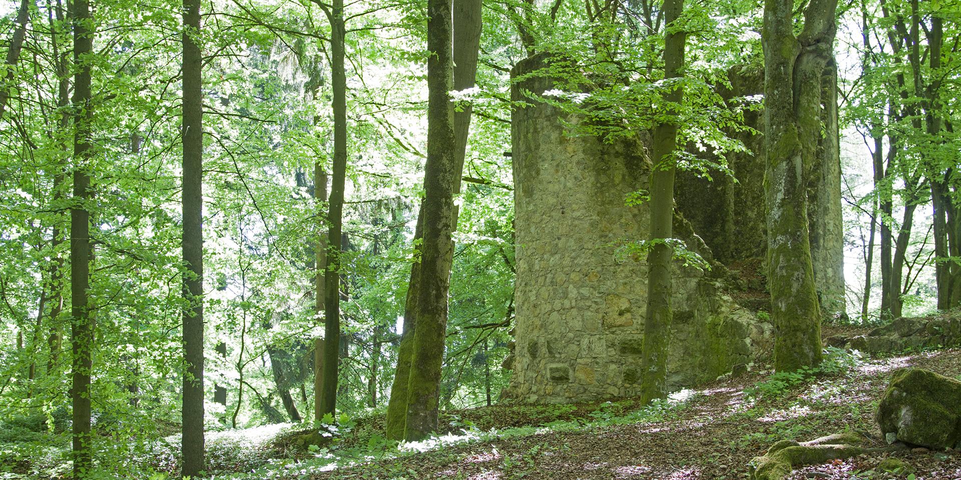 Auf der Burg Ehrenfels wird das Abendmahl gefeiert.