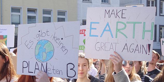 Globaler Klimastreik, © We-ge / iStock