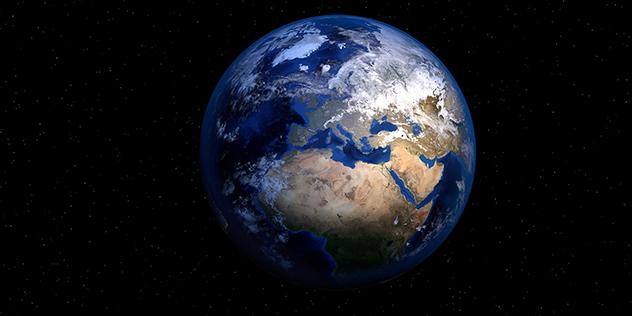 Erde aus dem Weltall, © piro4d/pixabay