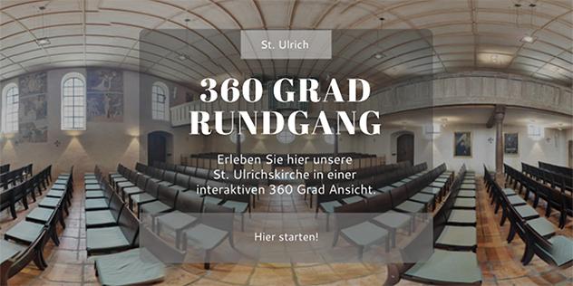 360 Grad St. Ulrich, © Kirche St. Ulrich