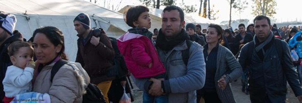 Landeskirche setzt sich für Flüchtlinge ein.<br /><strong>Zum Multimedia-Spezial.</strong>